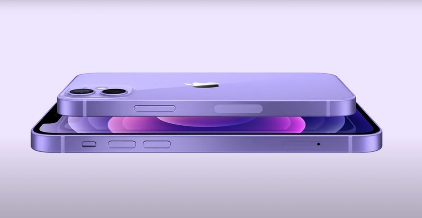Purple iPhone 12