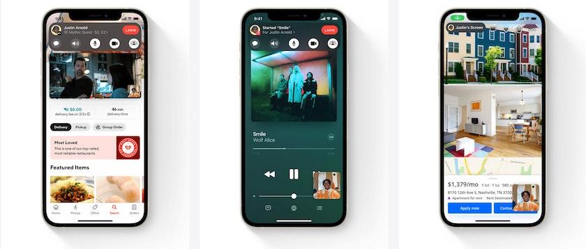 FaceTime iOS 15 iPhone