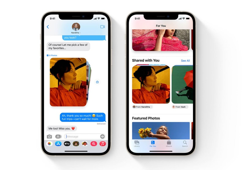 iMessage iPhone iOS 15