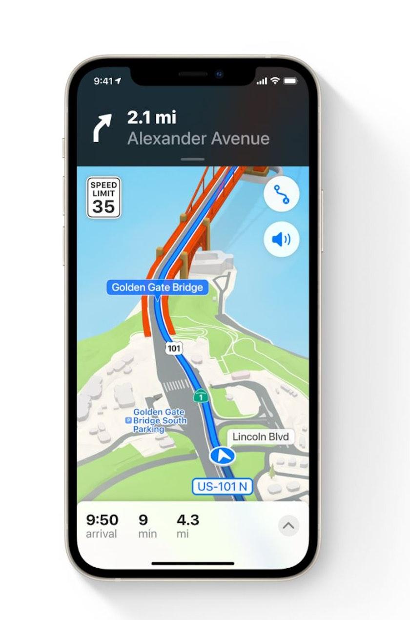 maps navigation phone