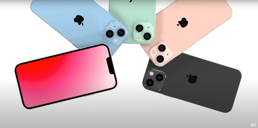 iphone 13/12S notch design