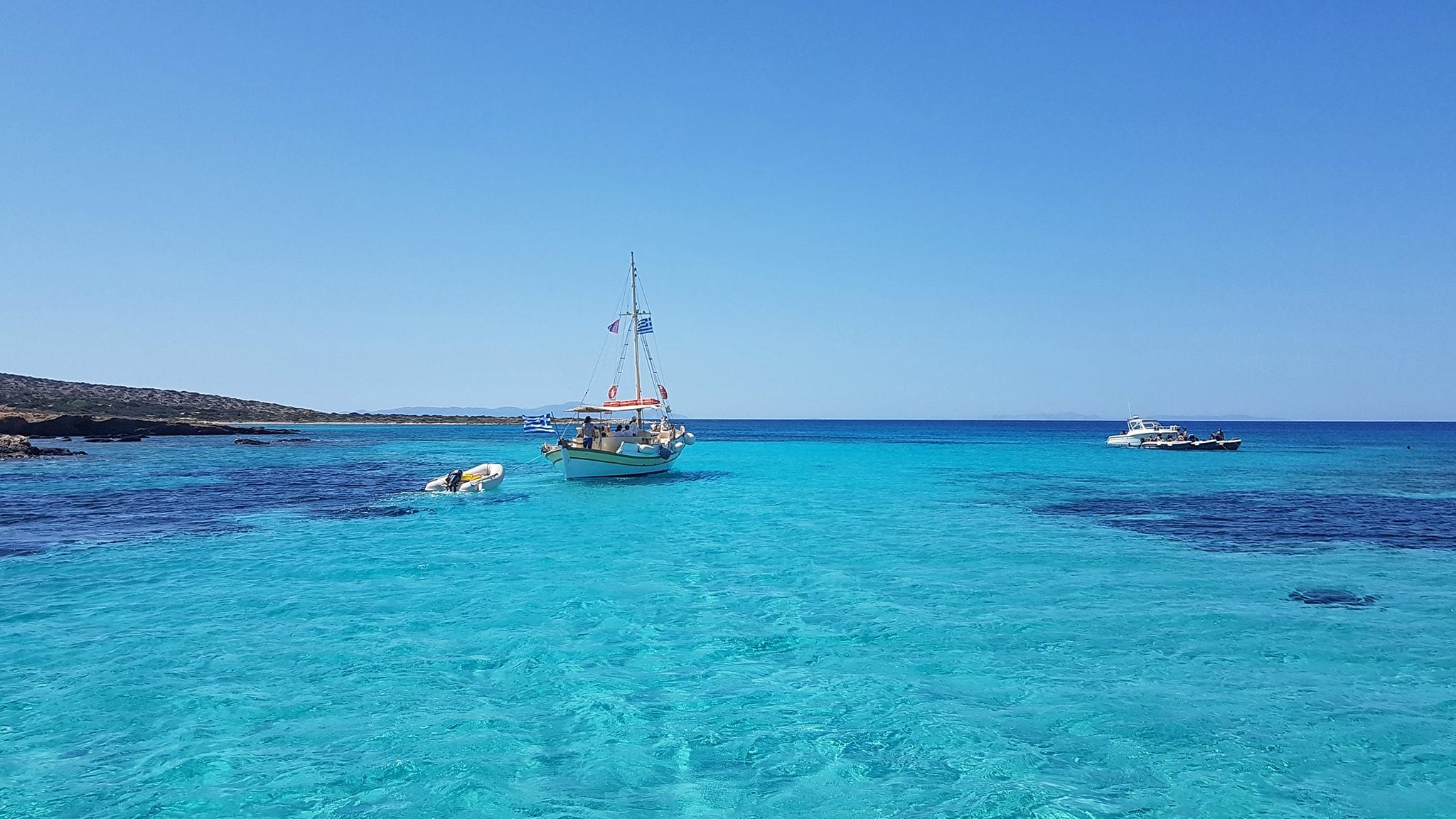 Crystal blue waters