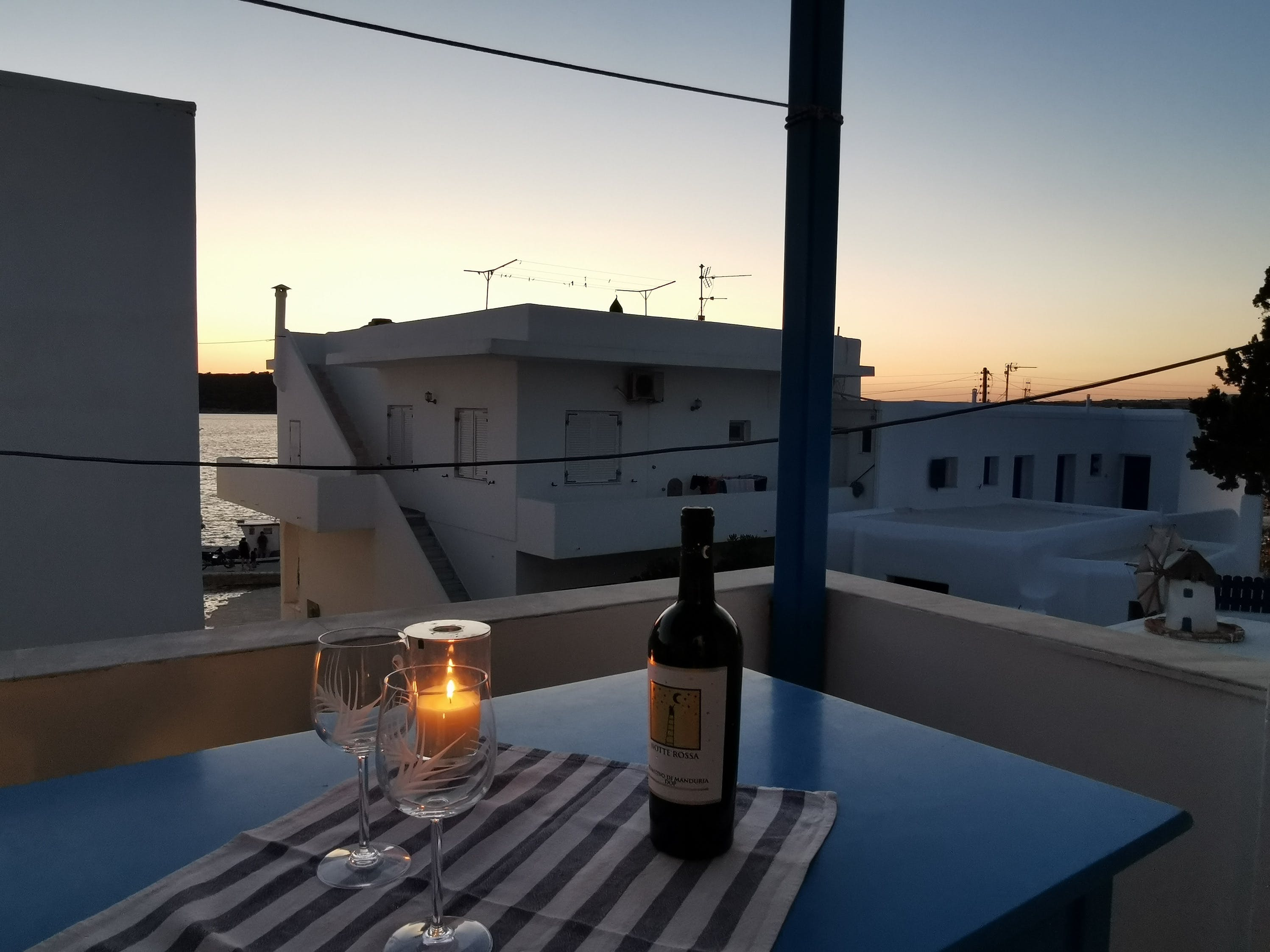 Two Bedroom with terrace sunset