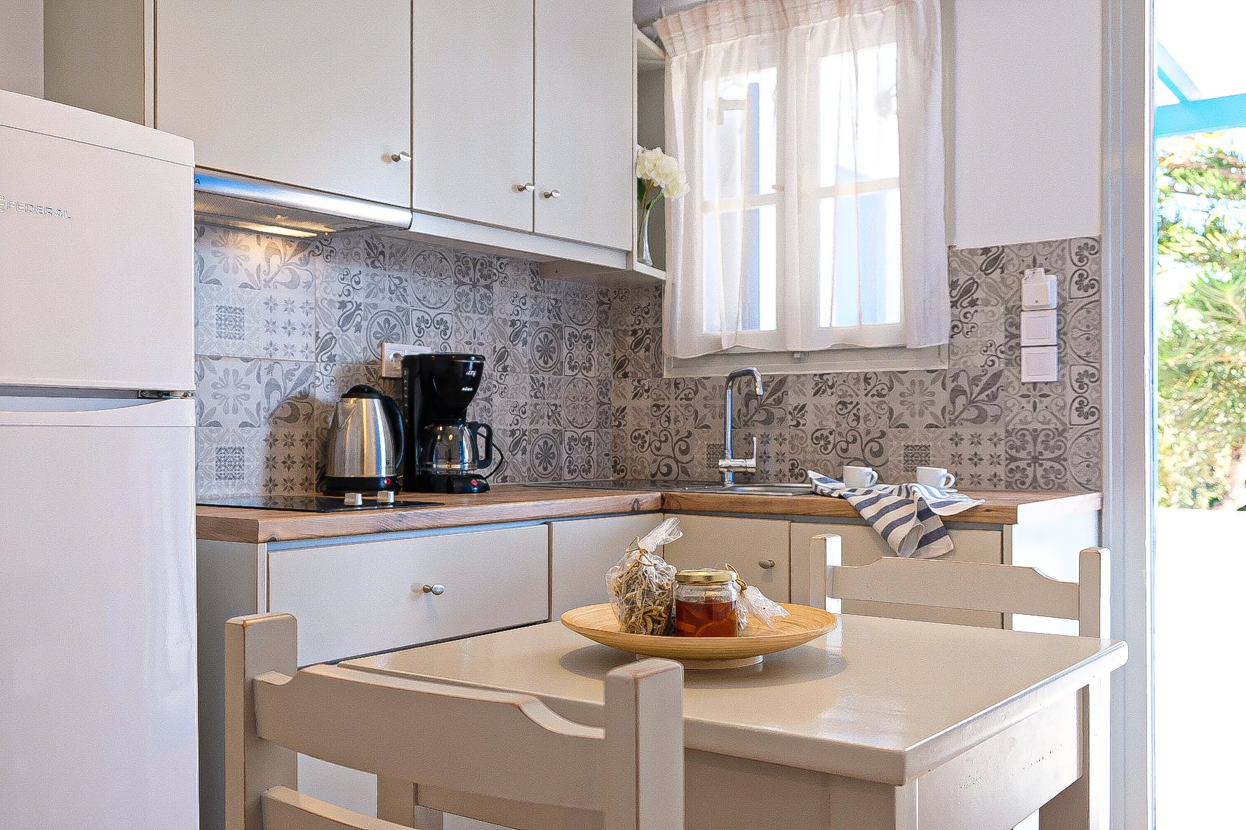 Two Bedroom with terrace kitchen 1