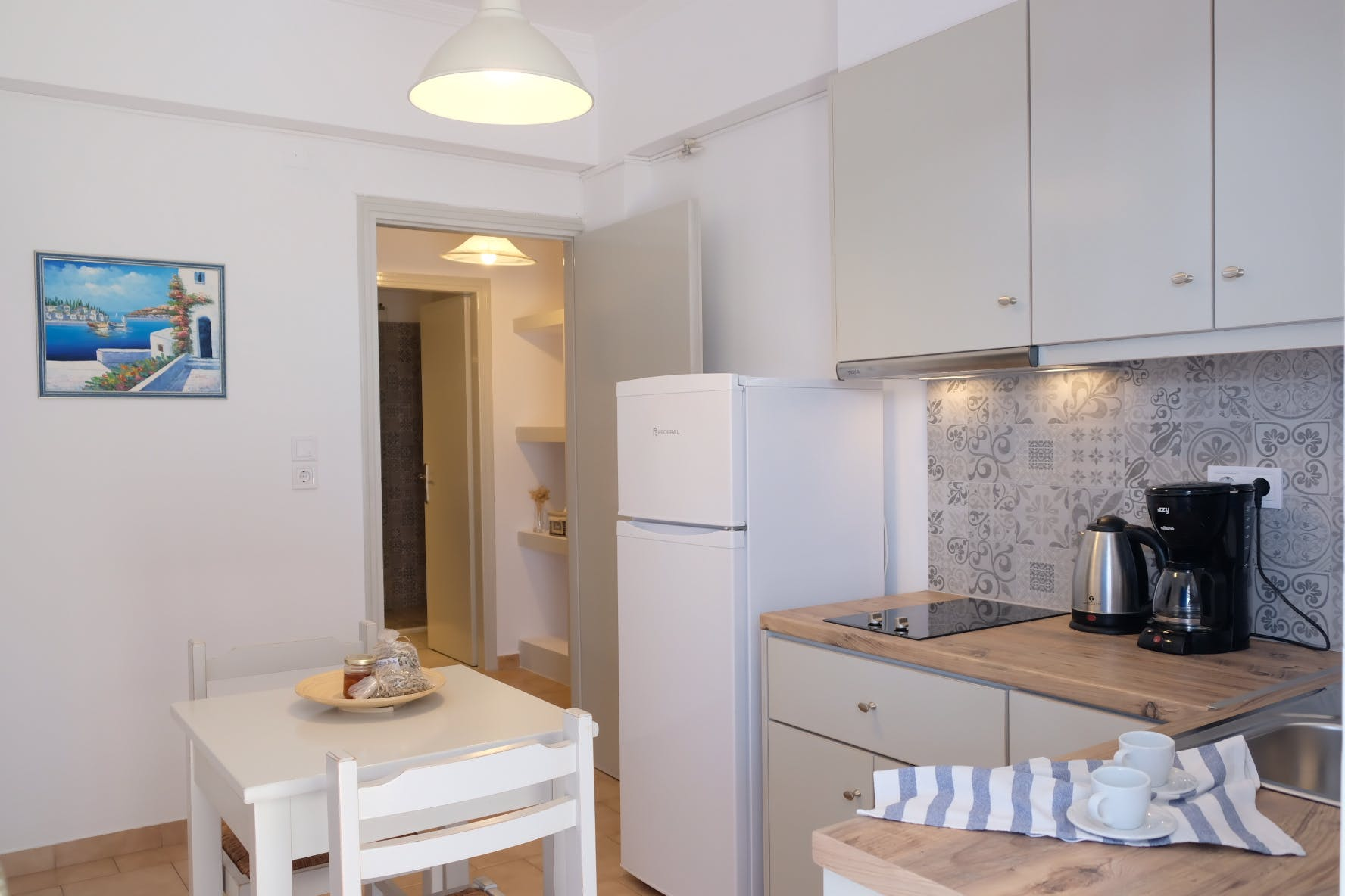 Two Bedroom with terrace kitchen 2