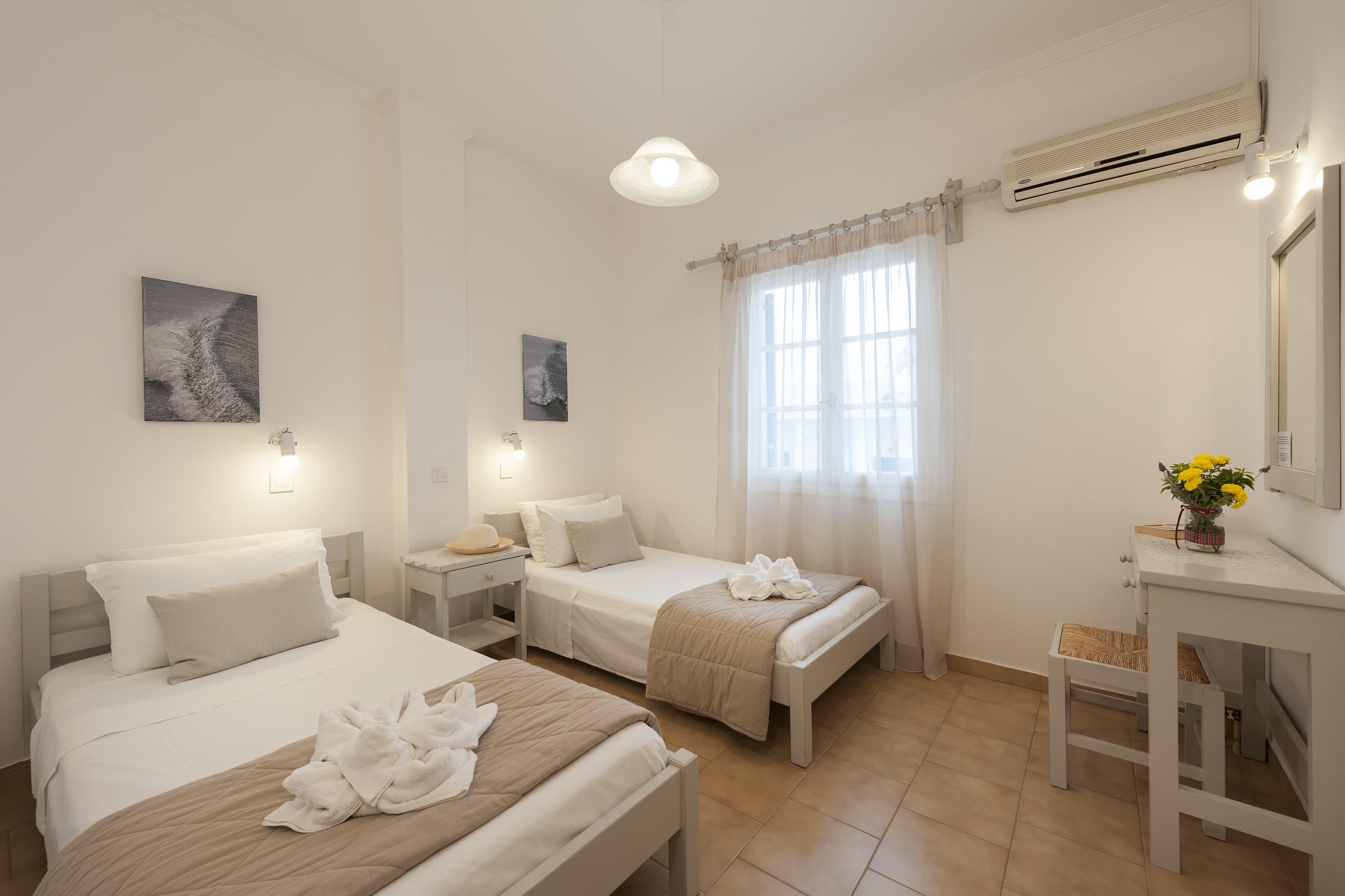 Two Bedroom with terrace bedroom 2