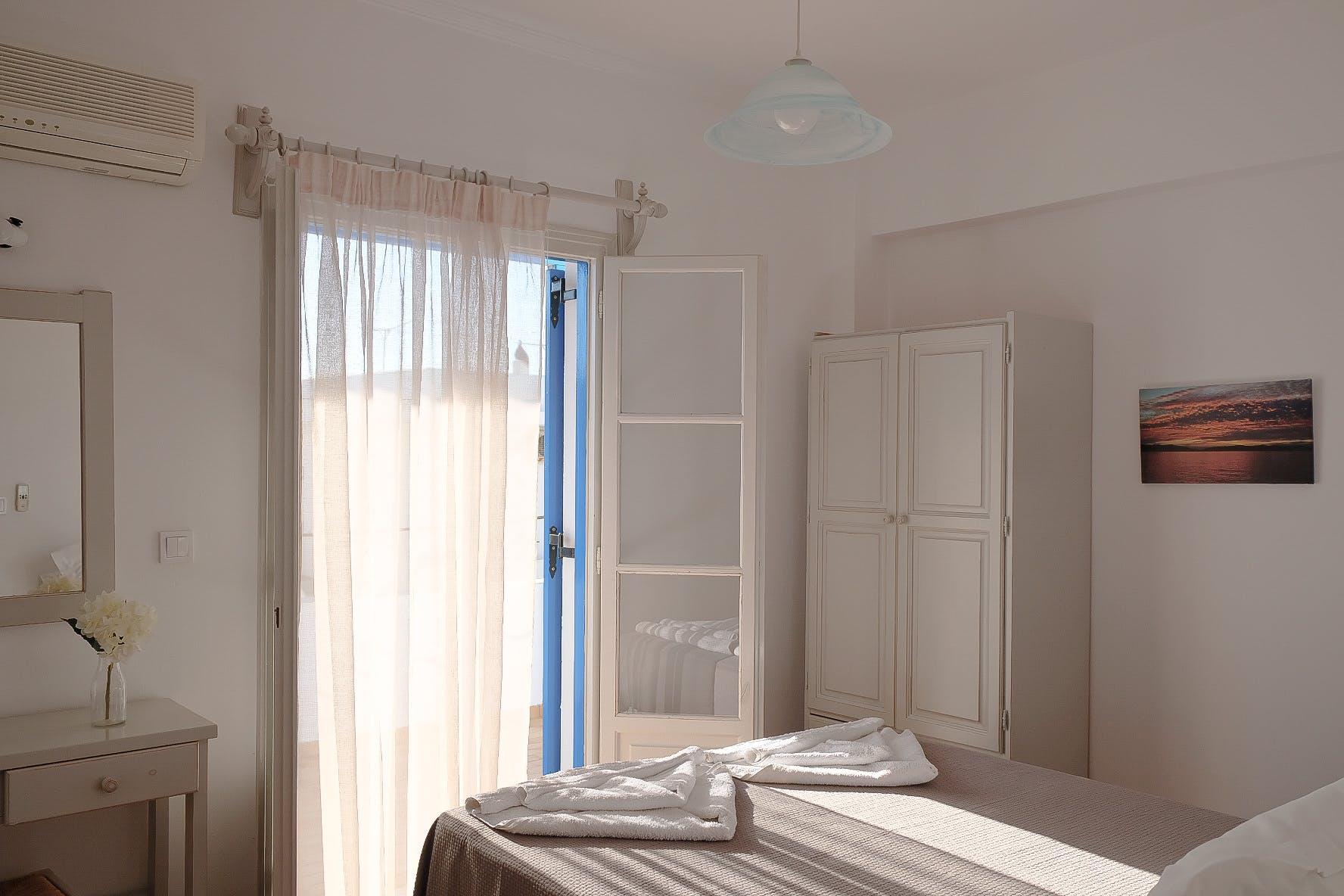 Two Bedroom with terrace bedroom 1