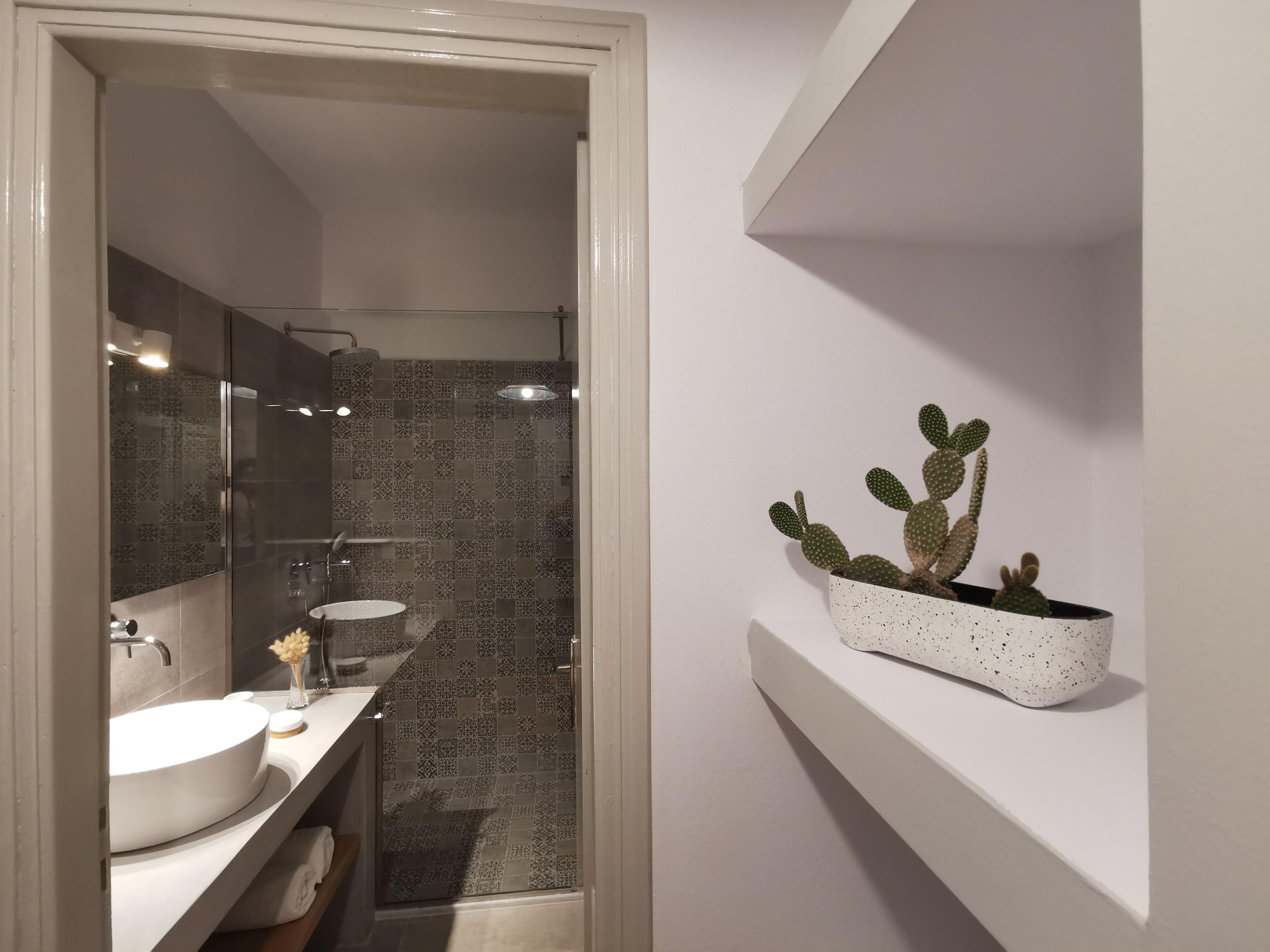 Two Bedroom with terrace bathroom 1