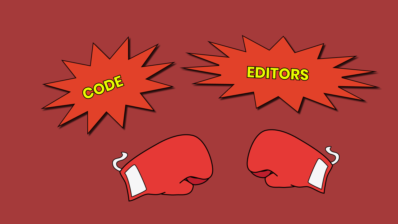 Ranking the top 5 code editors