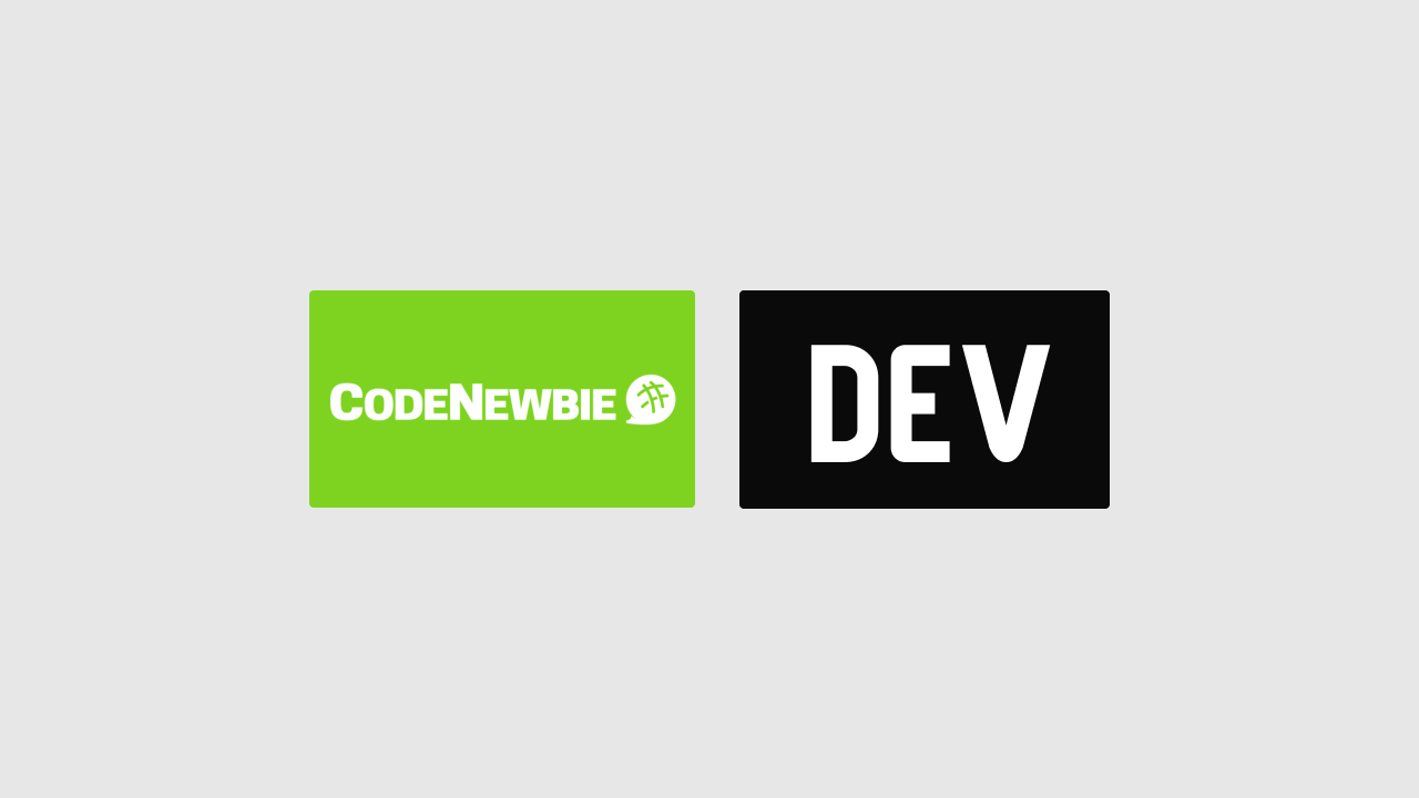 CodeNewbie and DEV