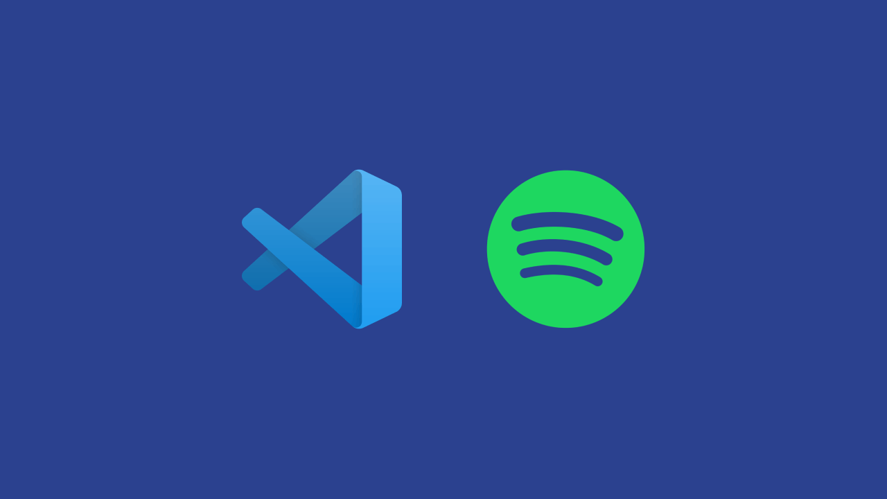 VS Code and Spotify