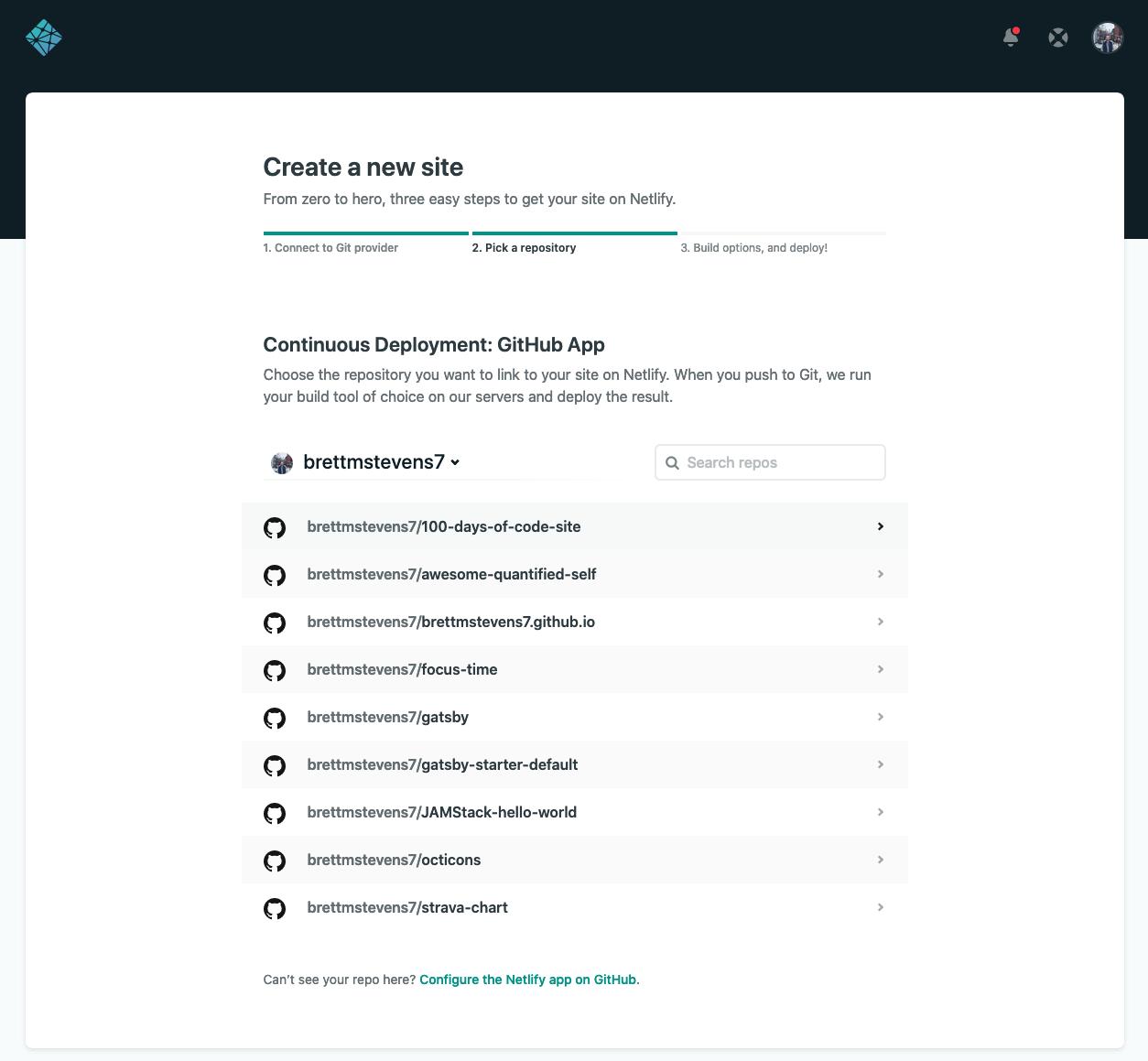 100 Days of Code Netlify deployment