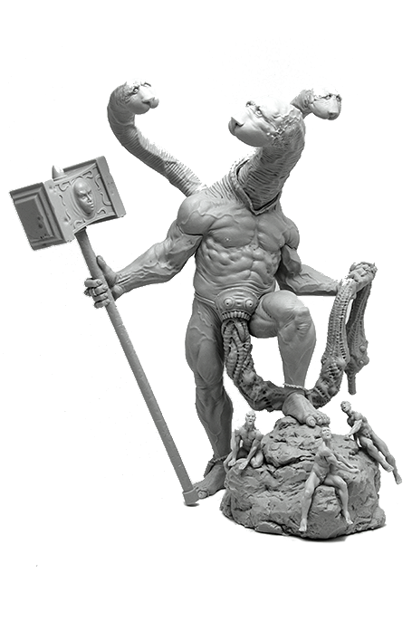 Forge God Resin Miniature