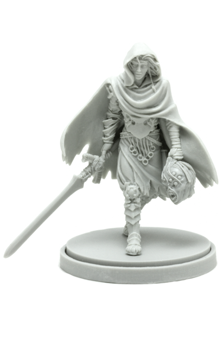 Twilight Knight Resin Miniature