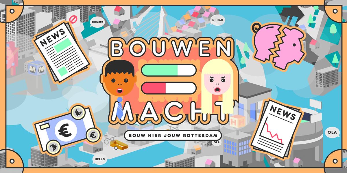 Illustratie van het spel Bouwen is Macht