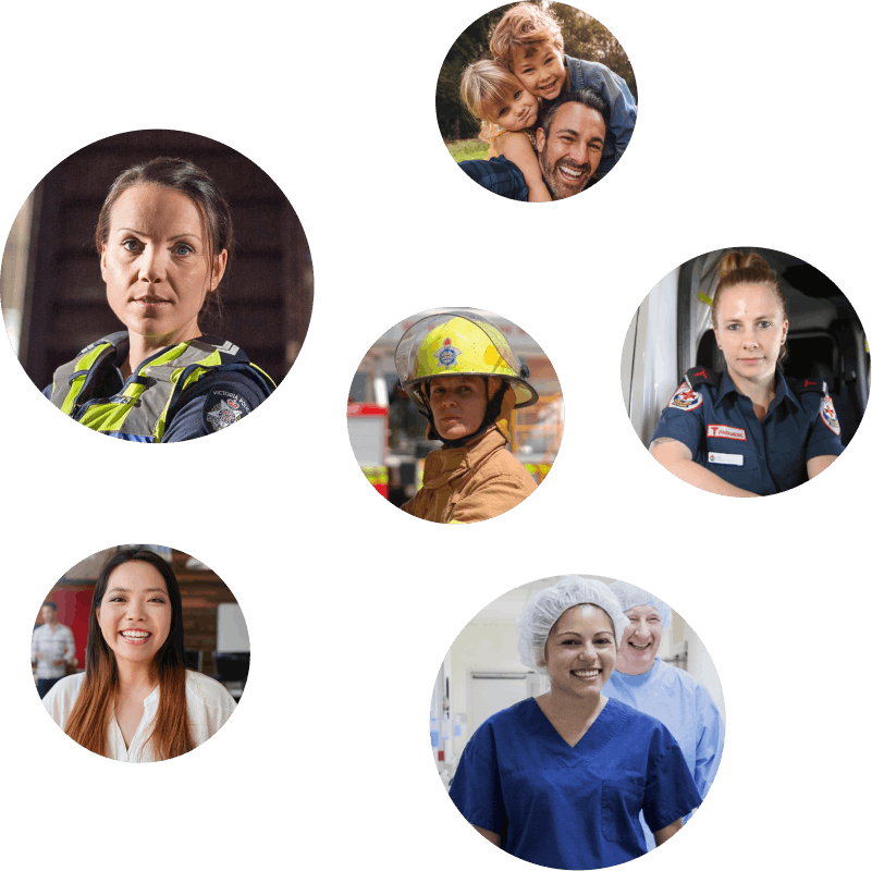 The bank for the Police, health and emergency services