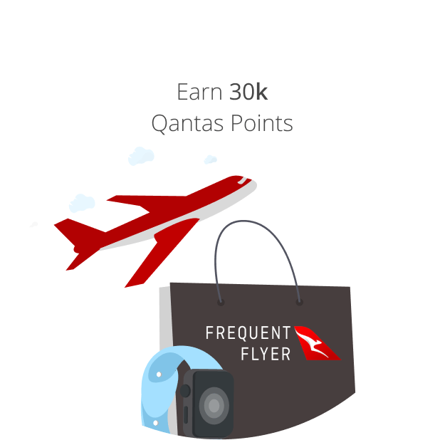 30,000 Qantas Points