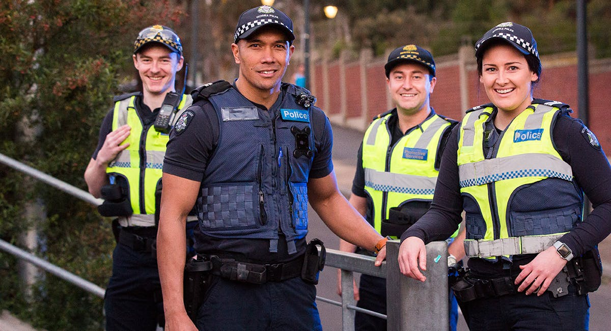 Home page hero image - police