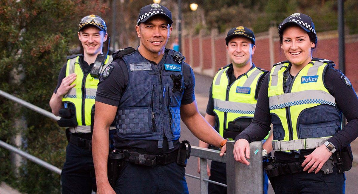 Home page hero image - police