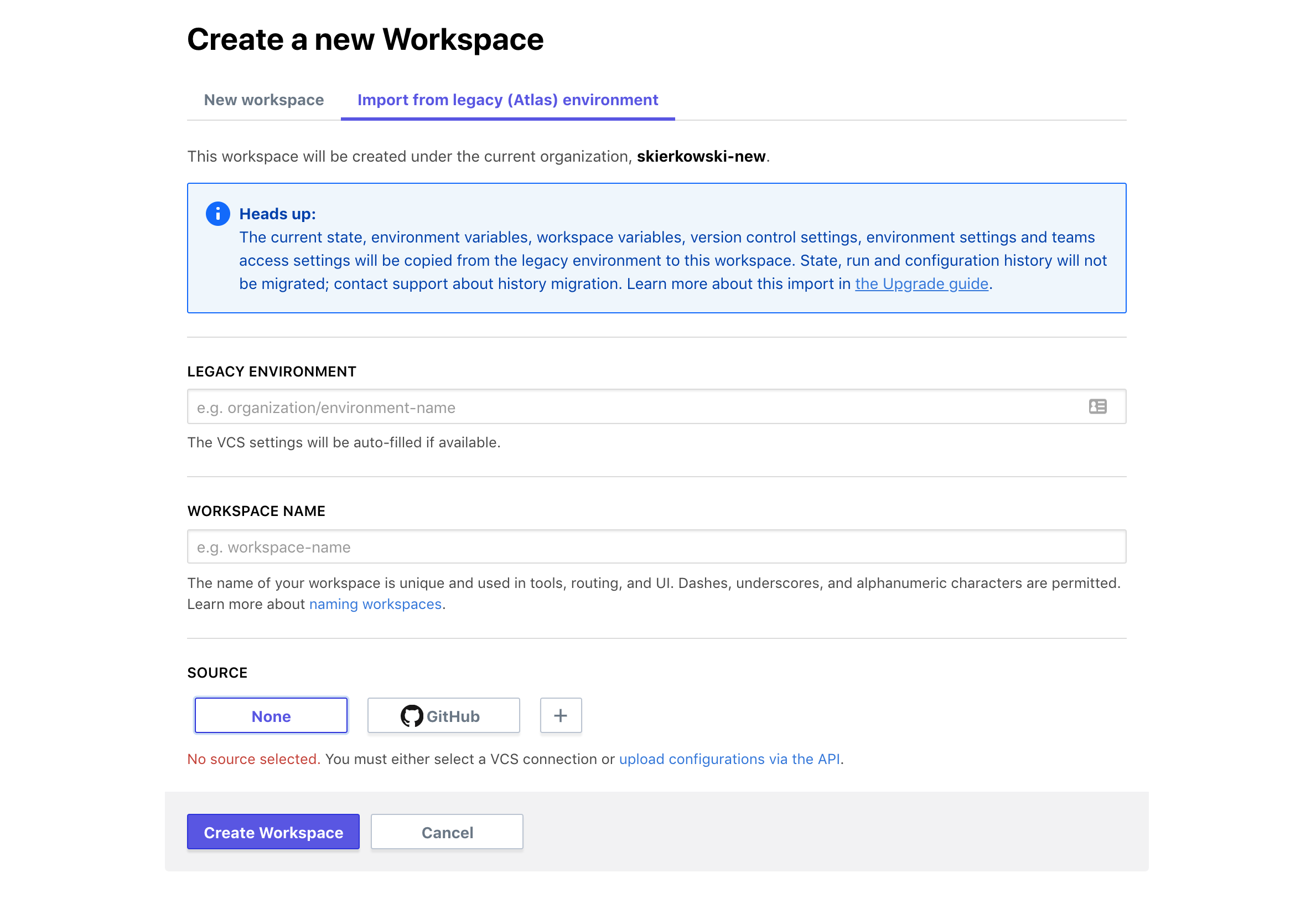 Automted Migration to Workspaces