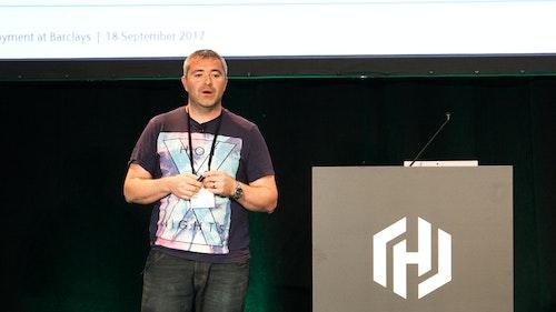 Brian Simson presenting