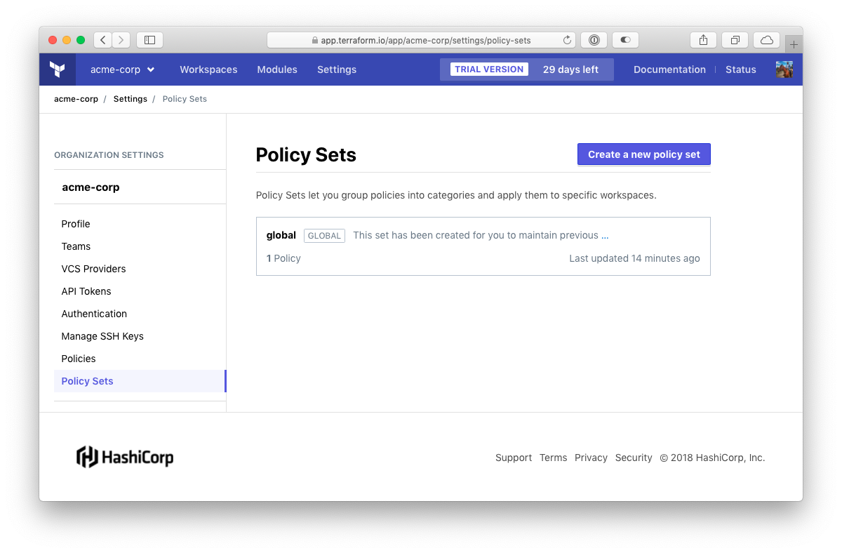 Announcing Policy Sets in Terraform Enterprise | Stack Over Cloud