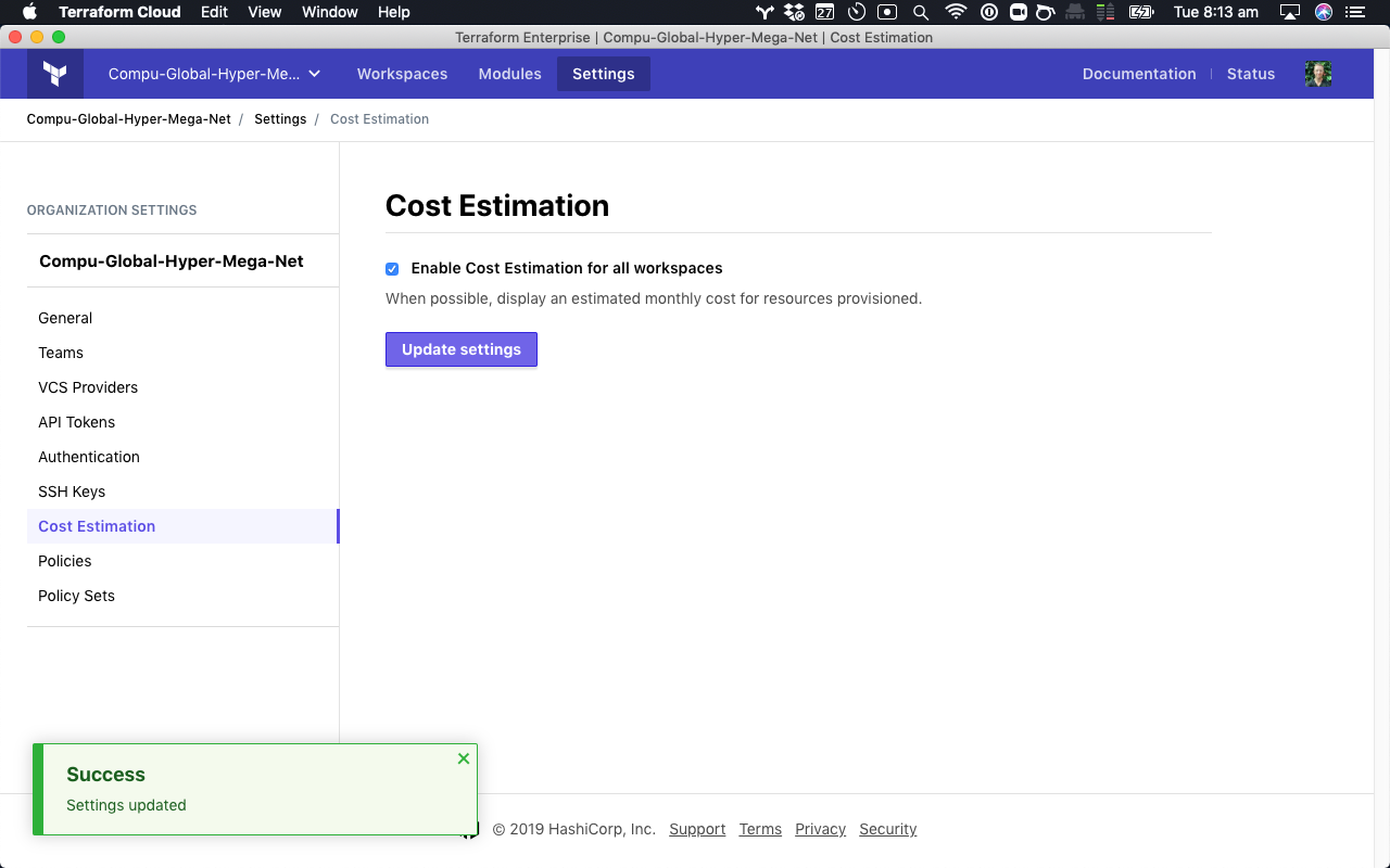 Announcing Cost Estimation For Terraform Cloud And Enterprise