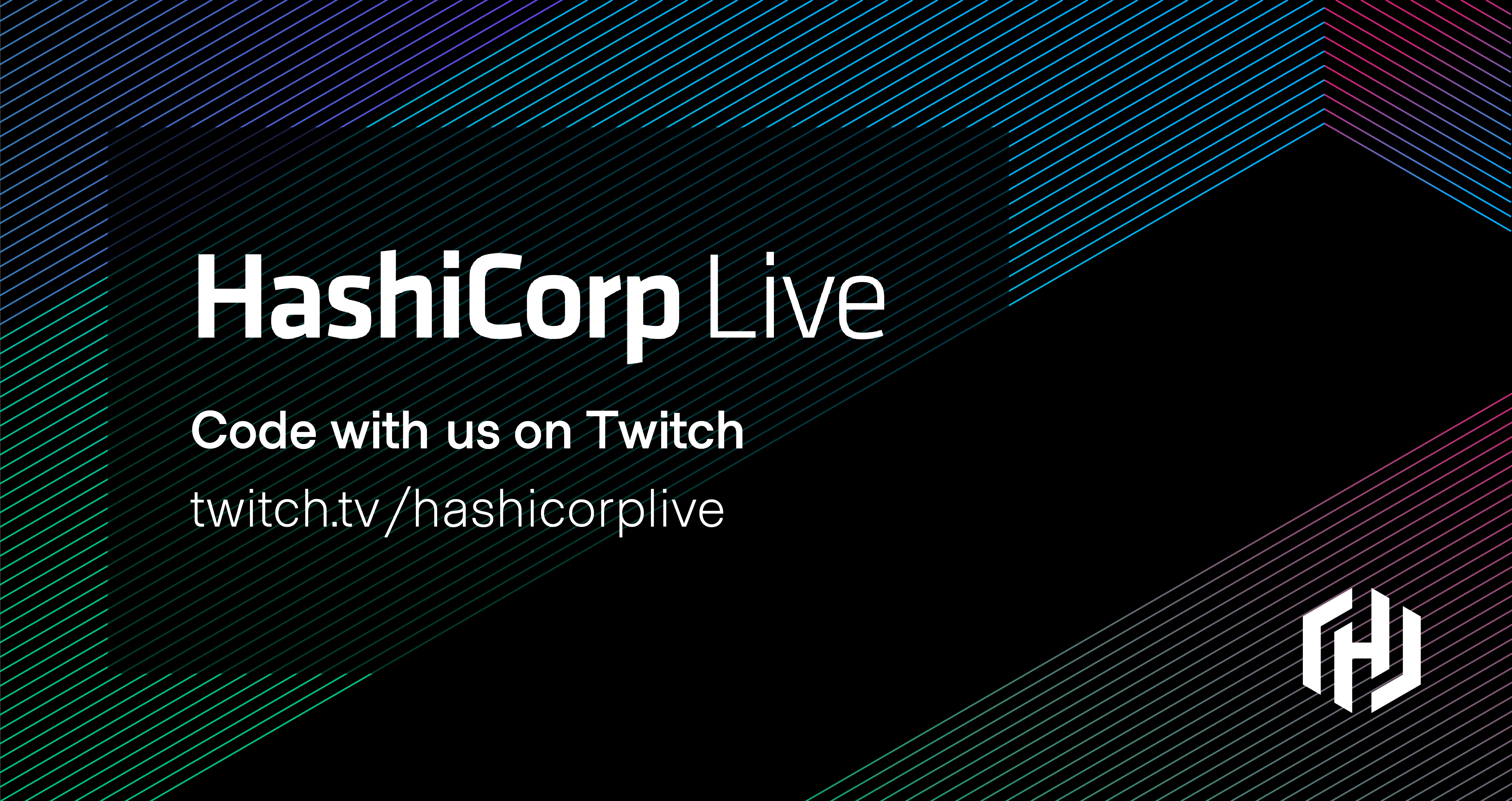 Code with us on Twitch