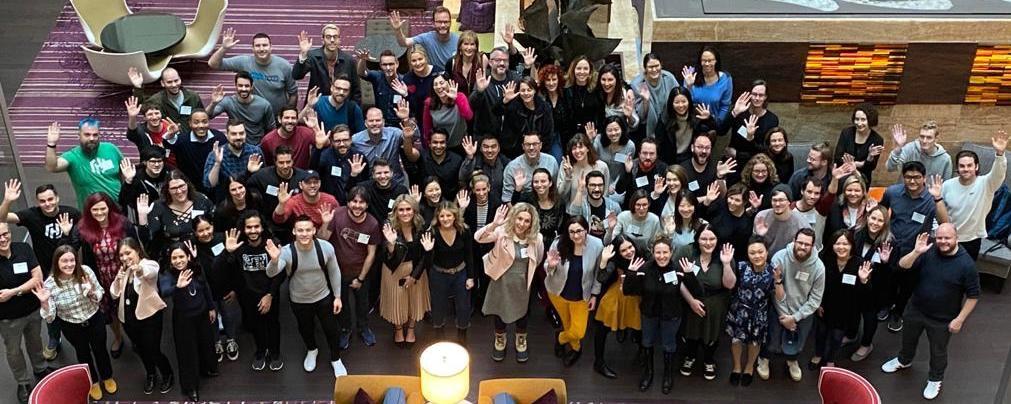 Team HashiCorp waving