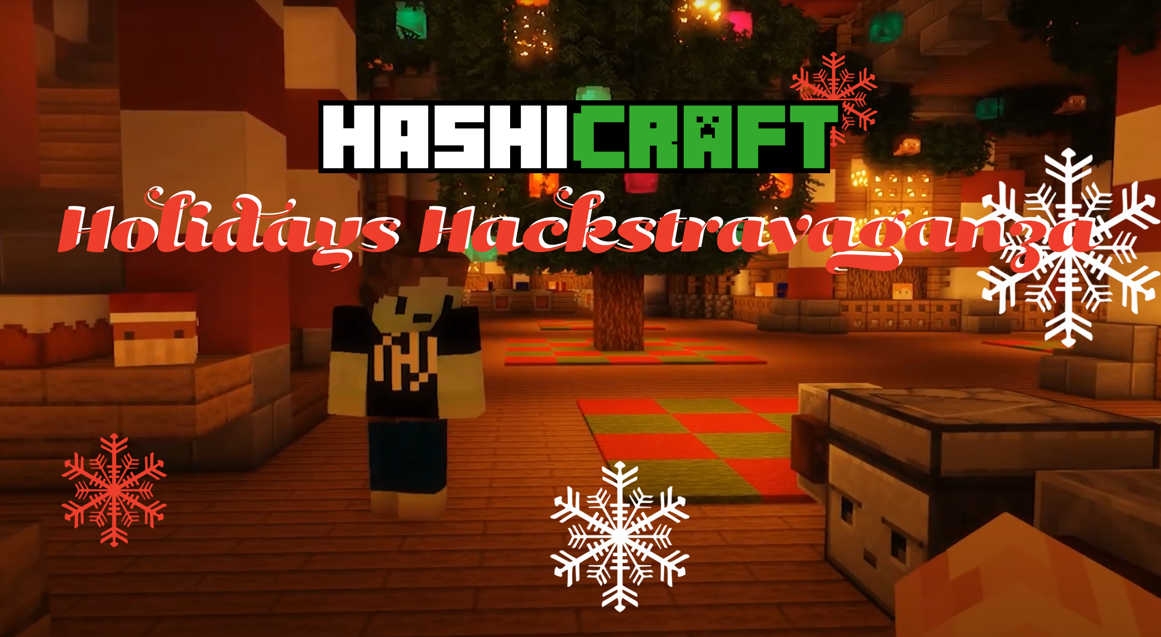 Announcing the HashiCraft Holidays Hackstravaganza