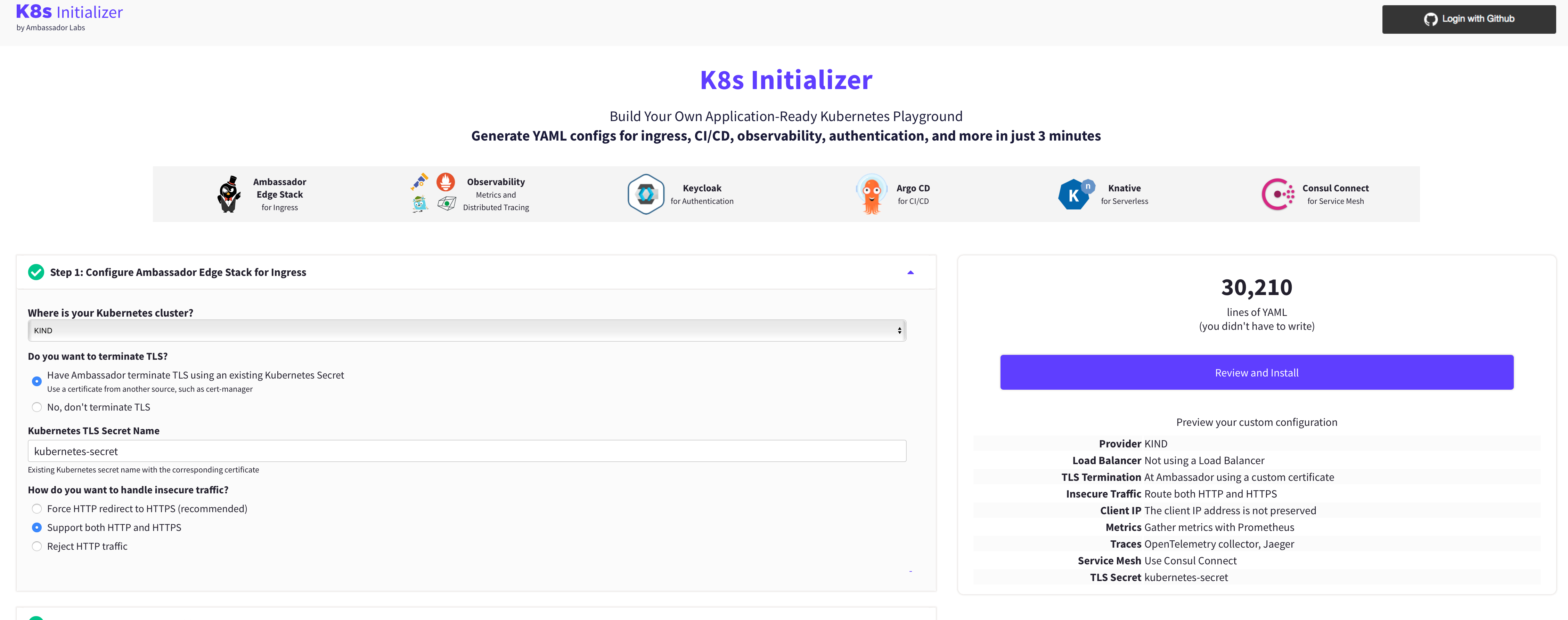 K8s Initializer home
