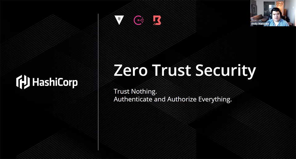 Zero Trust Security - Lunch + Learn Image
