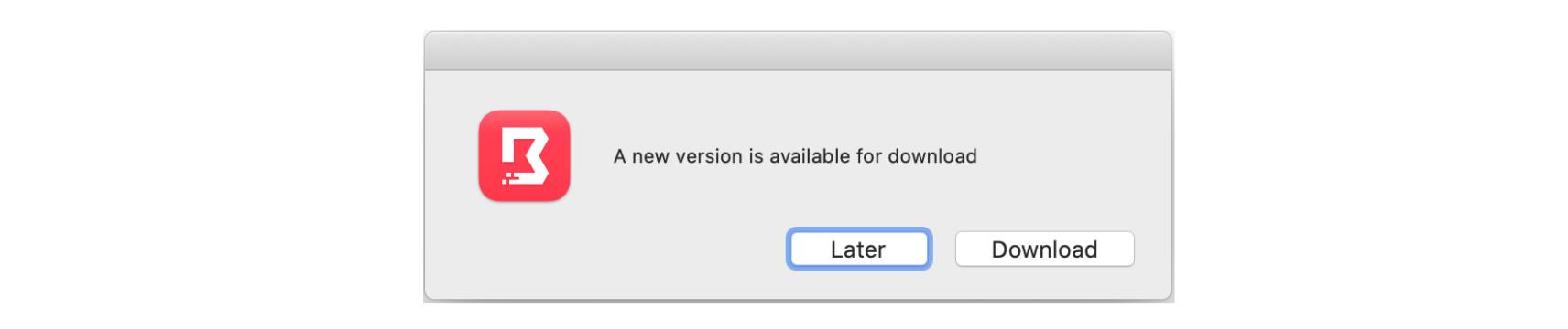Boundary update window