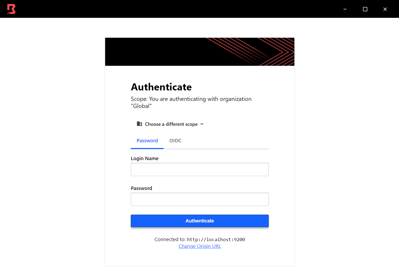 Boundary Desktop authentication