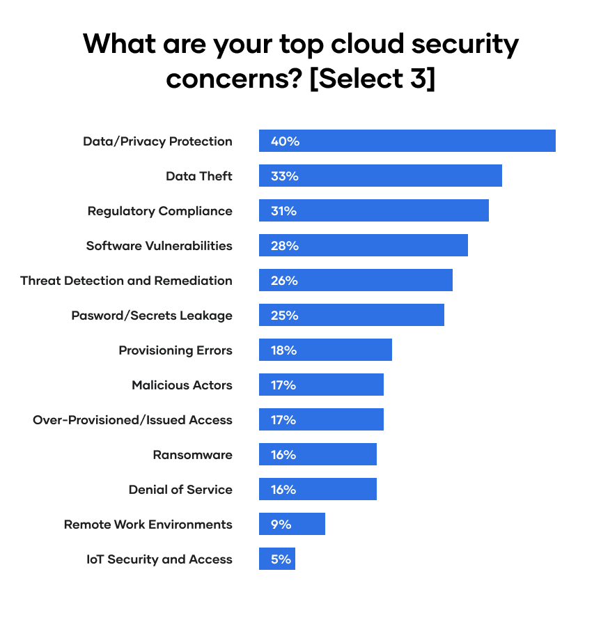 What are your top cloud security concerns?