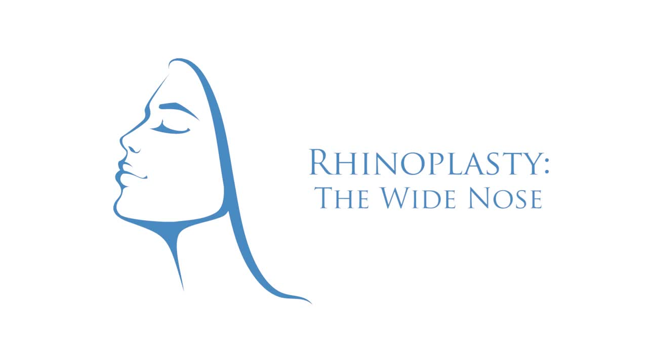 Rhinoplasty: The Wide Nose Logo