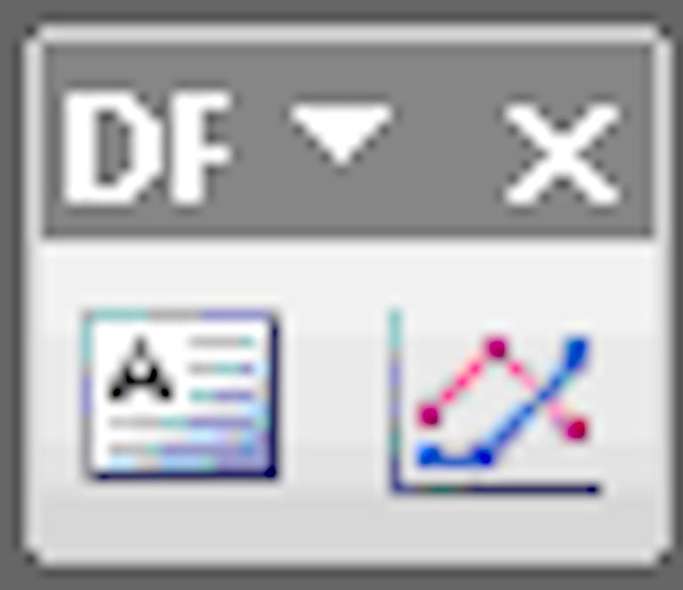 DPG Viewer toolbar