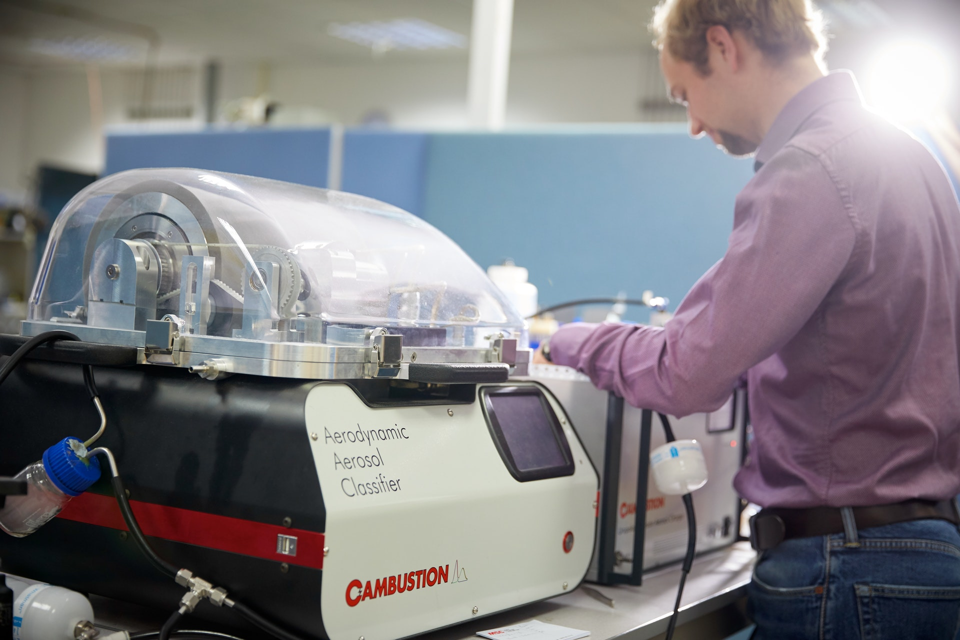 Cambustion AAC for mask penetration measurements