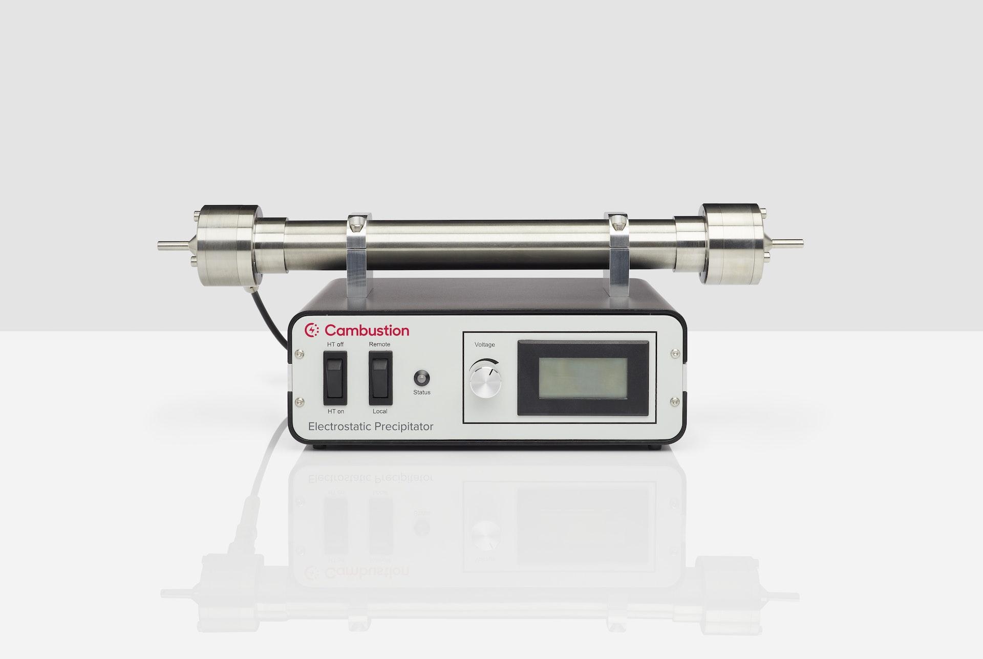 Cambustion electrostatic precipitator