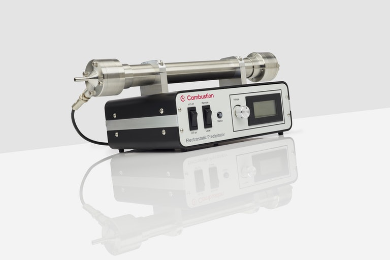 ¾ view of Cambustion electrostatic precipitator