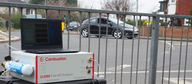 CLD50 for ambient roadside NO/NO2 monitoring