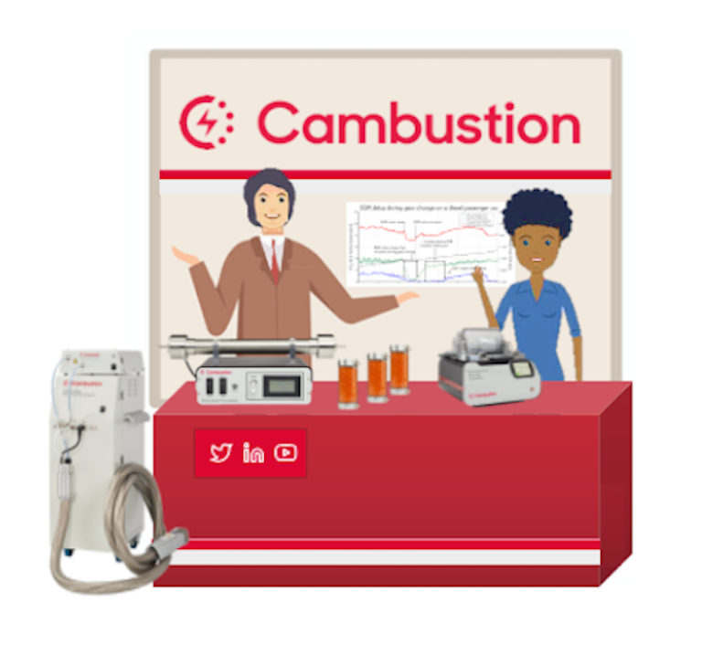 Cambustion Booth at ETH Nanoparticles Conference