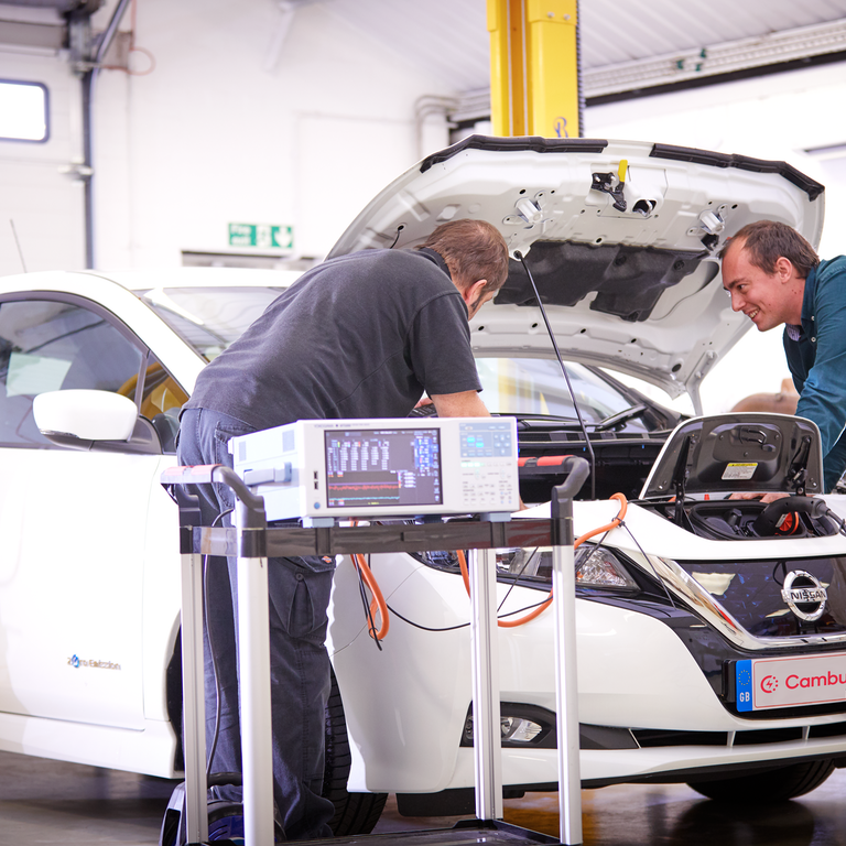 analysing an electric vehicle