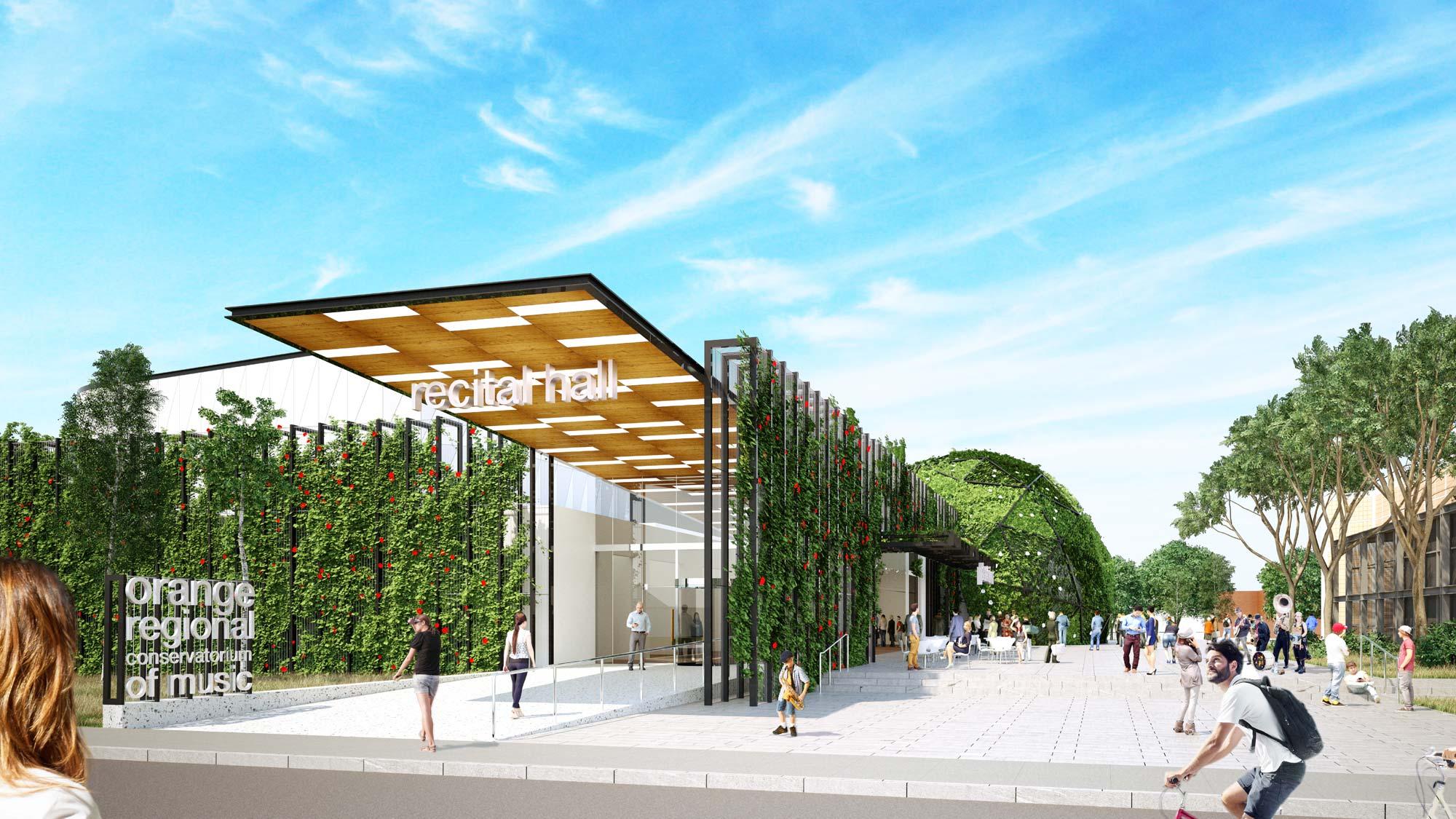 New Orange Conservatorium project achieves Council approval