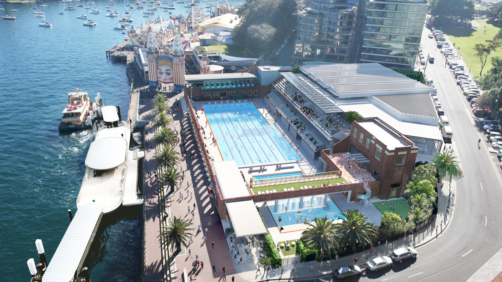 North Sydney Olympic Pool Redevelopment
