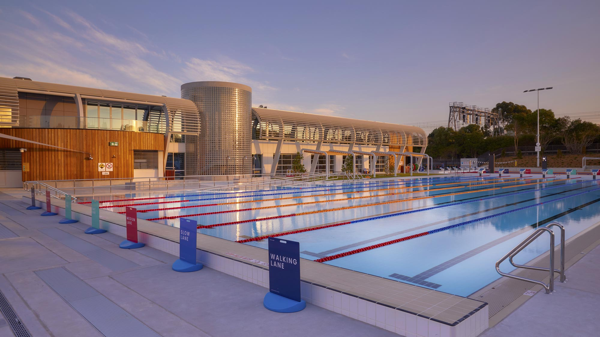 The new Ashfield Aquatic Centre officially opened to the public on 17th October 2020