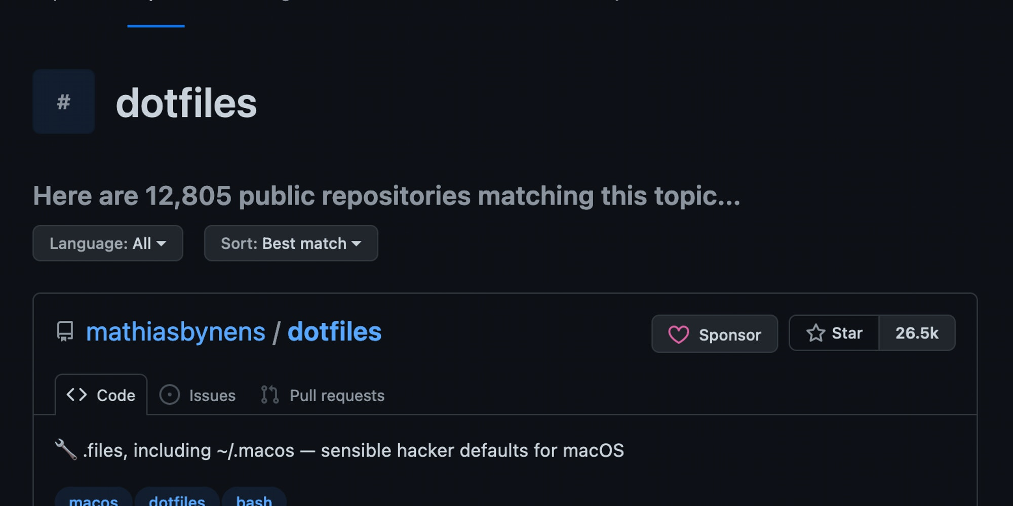 Cover Image for The Dotfile Law