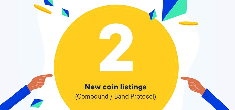 Nieuwe Listings: COMP en BAND
