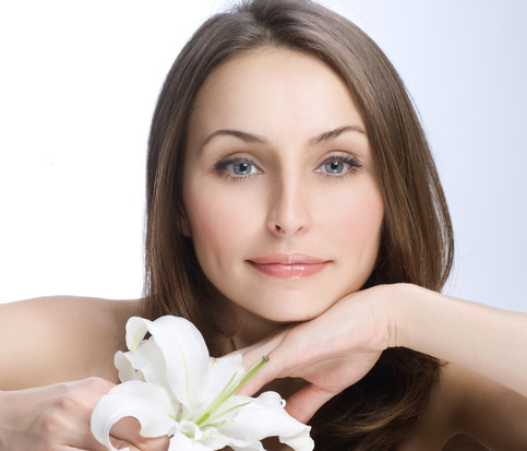 Beautiful Woman's Face. Clear fresh skin