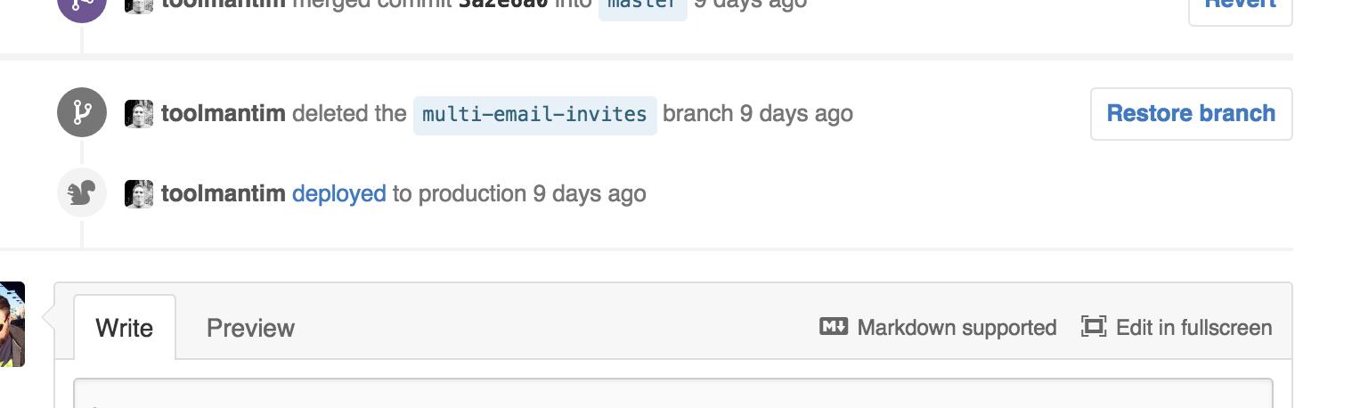 GitHub Deployment Status